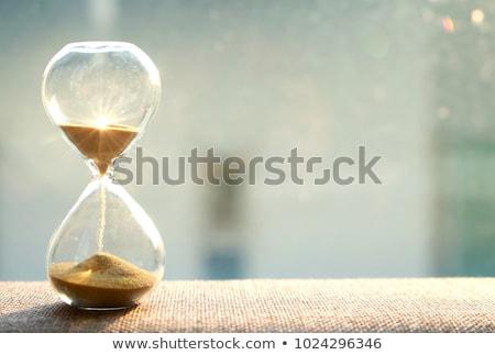 zaman · kazanmak · saat · beyaz · sözler · çalışmak - stok fotoğraf © lightsource