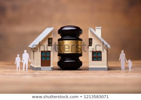 жена муж детей дома развод процесс Сток-фото © AndreyPopov