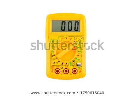 Professional digital multimeter Stock photo © restyler