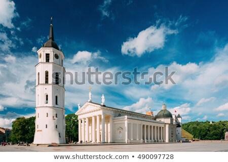 ヴィルニアス 大聖堂 リトアニア バシリカ 建物 市 ストックフォト © borisb17