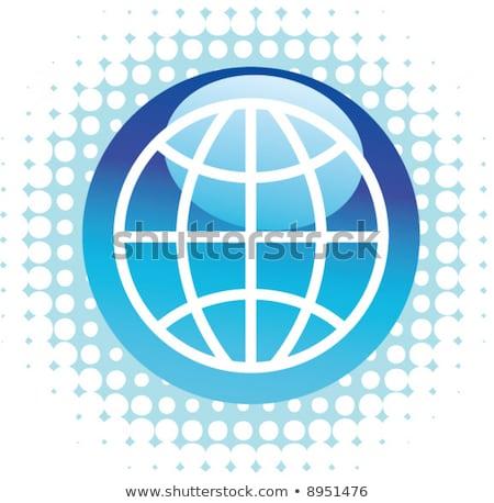 draad · frame · bol · netwerk · zwarte · internet - stockfoto © hlehnerer