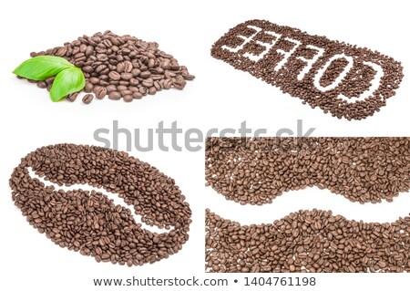 бобов кофе фон вектора пить кафе Сток-фото © RAStudio