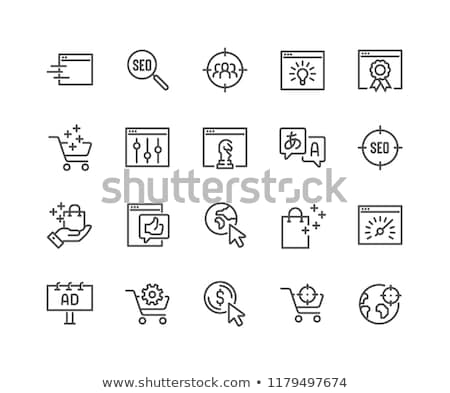 Cursor seo Stock photo © cla78