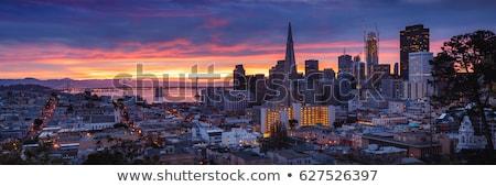 Ponte construção San Francisco substituição água trabalhar Foto stock © hlehnerer