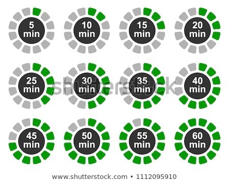 Stockfoto: Timer · klok · 10 · 15 · 30 · 60