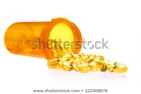 criança · pílula · mão · humana · medicina · saúde · bebê - foto stock © mybaitshop