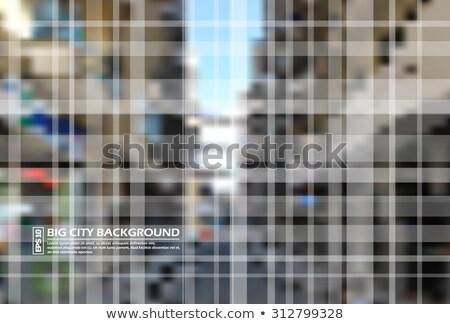Immobilier carré maison nuages herbe bâtiment Photo stock © moses