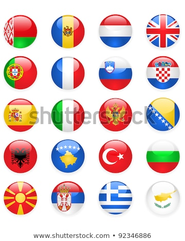 europe flags buttons part one stock photo © winner