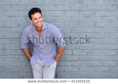Portrait of a good-looking male model Stock photo © curaphotography