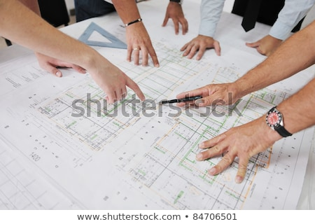 businesspeople on a construction site stock photo © photography33