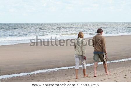 Paar lopen strand man Stockfoto © photography33