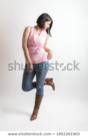 女性 · 笑い · ボディアート · 美しい · 見える - ストックフォト © artjazz