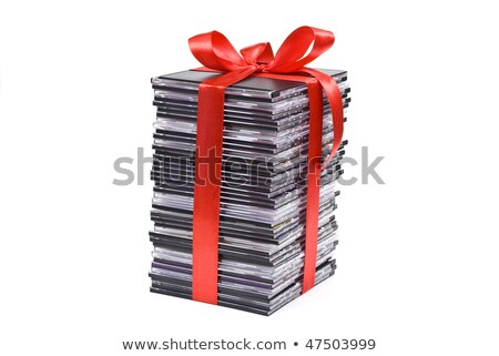 DVD movies in packing boxes Stock photo © broker
