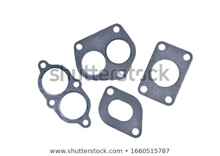 Exhaust manifold gasket for an automobile Stock photo © RuslanOmega