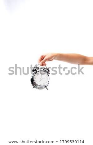 ritardare · tempo · clock · imprenditore · sveglia · ufficio - foto d'archivio © broker