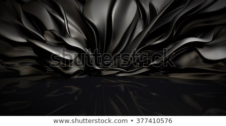 Black Abstract Cloth Stock photo © barbaliss