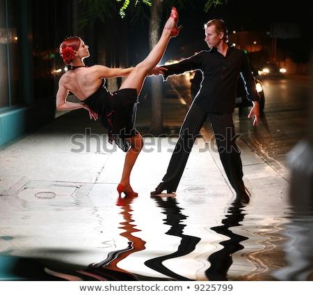 サルサ ダンサー 脚 ダンス ポーズ ストックフォト © feedough