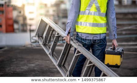 Builder carrying ladder Stock photo © photography33
