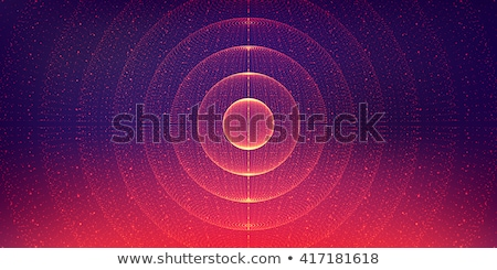 abstract illustration of a galaxy  stock photo © OleksandrO