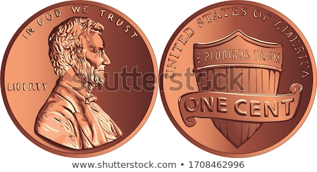 American cents – penny Stock photo © gladcov