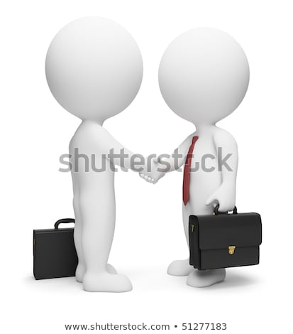 3d small people - deal Stock photo © AnatolyM
