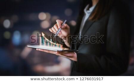 Success On Smartphone Showing Progression stock photo © stuartmiles