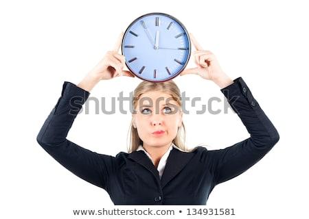 ambitny · kobieta · interesu · działalności · pracy · portret · pracownika - zdjęcia stock © wavebreak_media