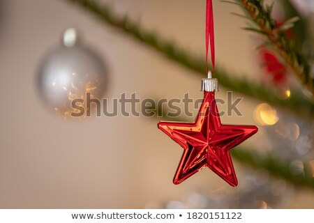 libre · rouge · star · 3D · bannière · texte - photo stock © marinini