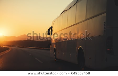ônibus · interior · transporte · público · fundo · metrô · tráfego - foto stock © ivonnewierink
