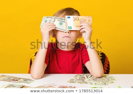 Shocked businessman counting his Euros Stock photo © photography33
