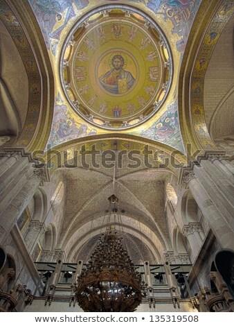 kilise · Kudüs · İsrail · İsa - stok fotoğraf © eldadcarin