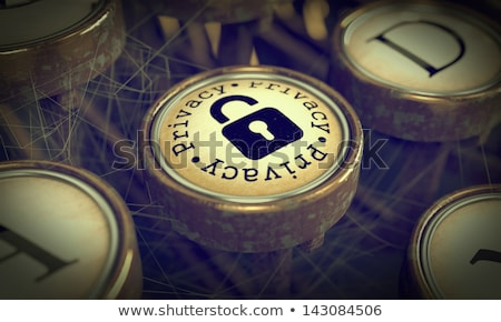 Social Media Key on Grunge Typewriter. Stock photo © tashatuvango