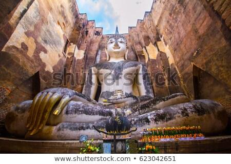 像 · 神 · 歴史的 · 公園 · 顔 · 建設 - ストックフォト © bbbar