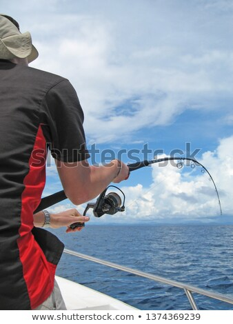 Saltwater big fishing lure for tuna, marlin, wahoo Stock photo © lunamarina