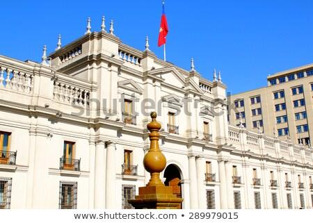 Presidencial palácio Santiago 2013 república la Foto stock © fxegs