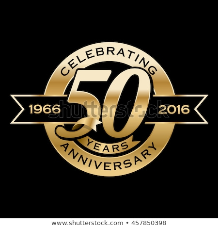 50th Anniversary Seal Stock photo © alexmillos