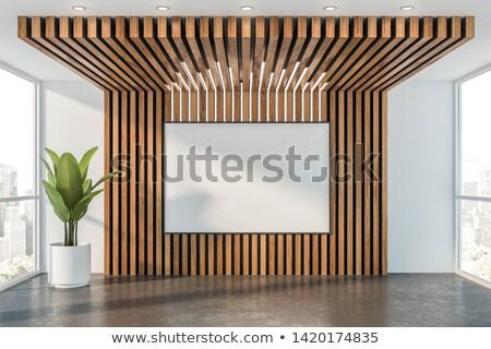 木製 · ロフト · インテリア · 家 · 木材 · 壁 - ストックフォト © deyangeorgiev