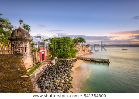 El Morro fort in San Juan, Puerto Rico  Stock photo © Bertl123