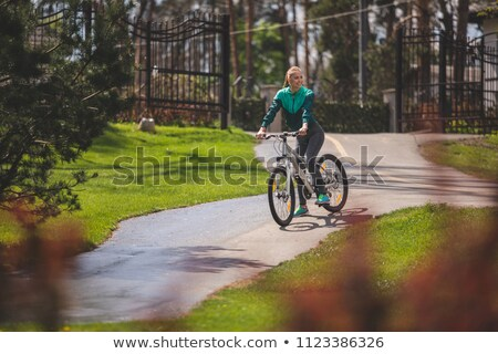 Marvelous woman among the greenery Stock photo © konradbak