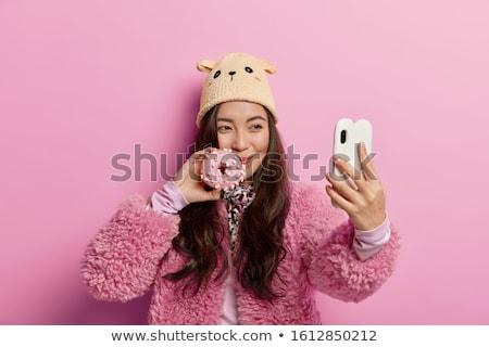sweetie brunette Stock photo © 26kot