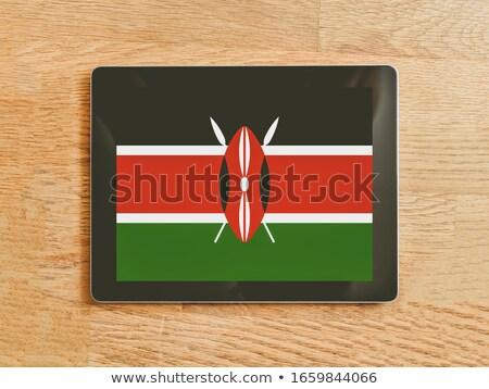 smartphone national flag of kenya    Stock photo © vepar5