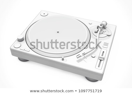 3d dj mixer equipment  Stock photo © Elisanth