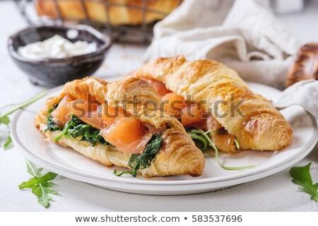 朝食 · クロワッサン · コーヒー · オレンジジュース - ストックフォト © raphotos