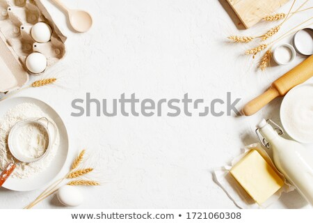 Baking ingredients in the kitchen Stock photo © juniart