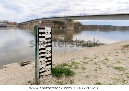 Low Water Level In Reservoir Stock photo © pancaketom