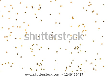 Close up of confetti on white background Stock photo © djemphoto
