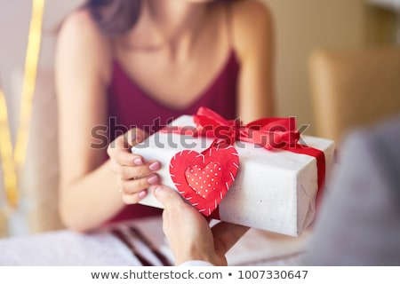 gift of valentine stock photo © dezign56