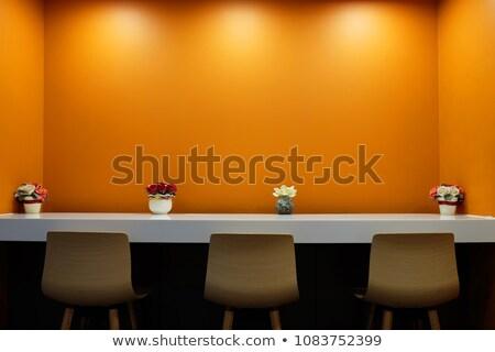 атмосфера · дружественный · семьи · сидят · удобный - Сток-фото © nito