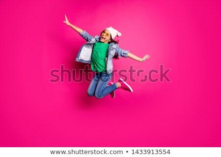 女の子 ジャケット 手 ヒップ 少女 ジーンズ ストックフォト © JamiRae
