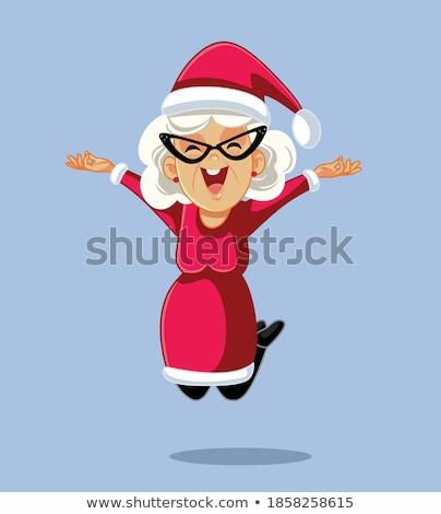 Mrs. Santa Claus  Stock photo © Elisanth